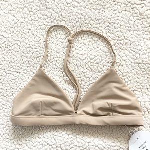Triangle Bikini Top Nude